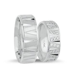 Mısra Gümüş Alyans 1057-G