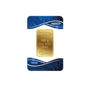 100 Gram Külçe Altın