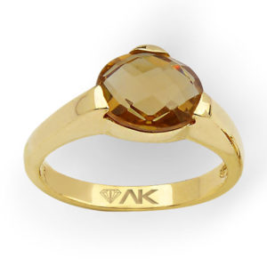 Zultanit Oval Taşlı Doğal Tek Taş Altın Yüzük 14 Ayar