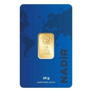 Nadir Gold 24 Ayar Külçe Gram Altın 10 Gr
