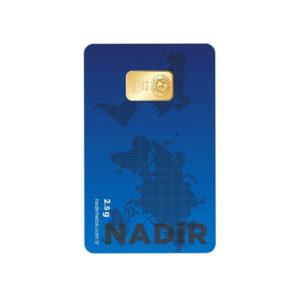 Nadir Gold 24 Ayar Külçe Gram Altın 2,5 Gr