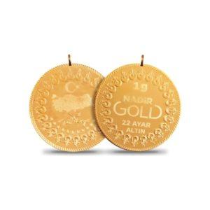 1 Gram Kulplu 22 Ayar Altın