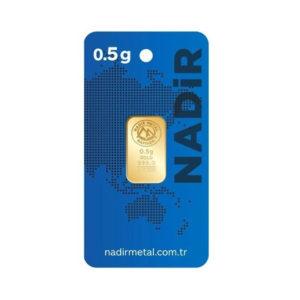 Nadir Gold 24 Ayar Külçe Gram Altın 0,5 Gr