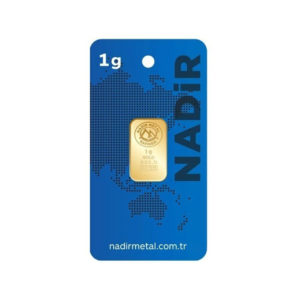 Nadir Gold 24 Ayar Külçe Gram Altın 1 Gr