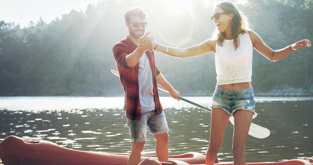 Couple On Canoe 2000x