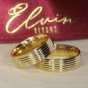 6mm Elvin Altın Alyans