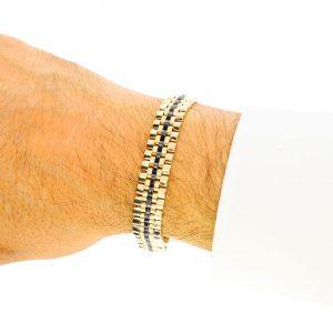 Altın Rolex Erkek Bileklik