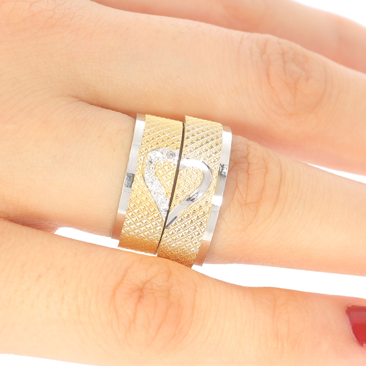 7mm Kalpli Gümüş Alyans