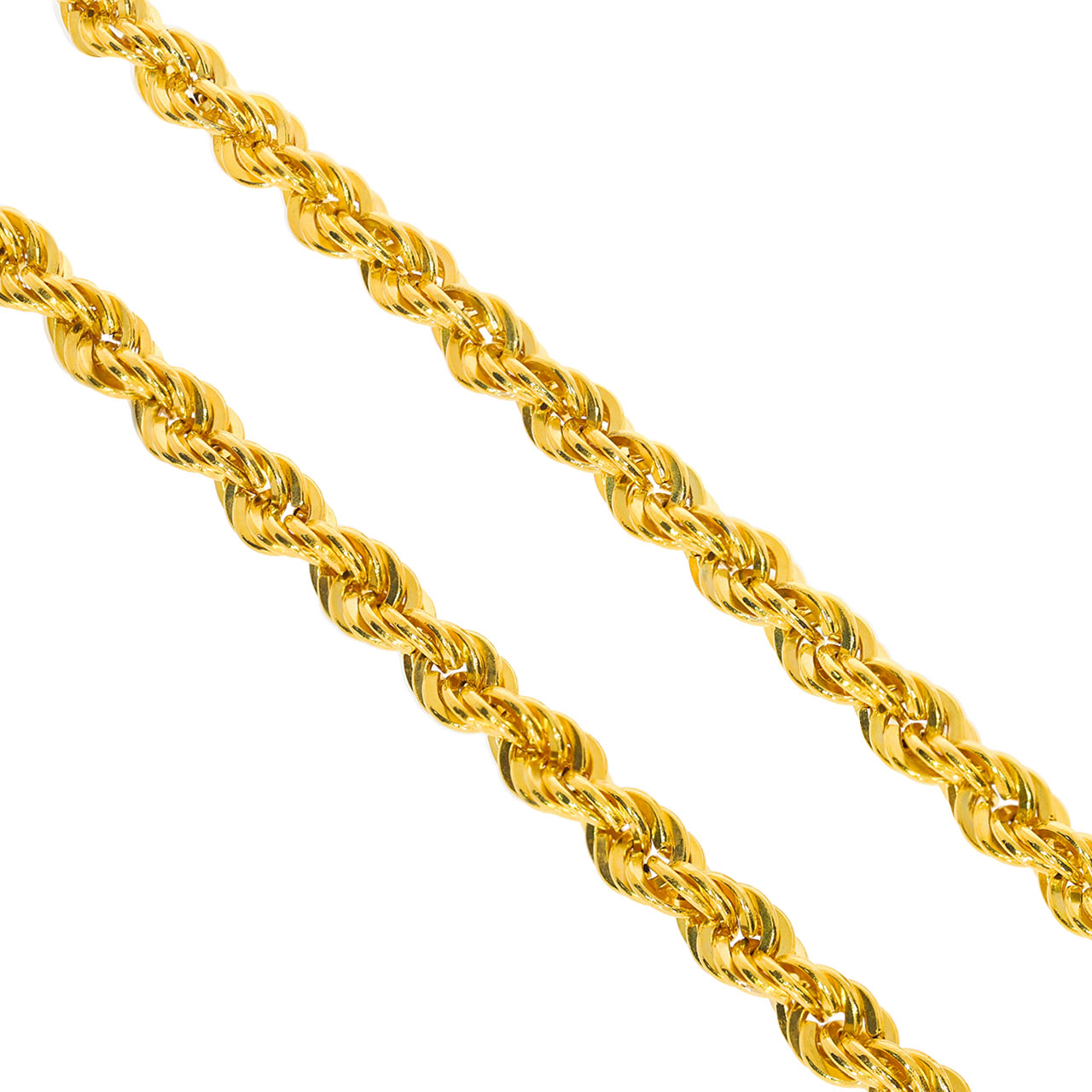 5,2mm Halat Altın Zincir 14 Ayar
