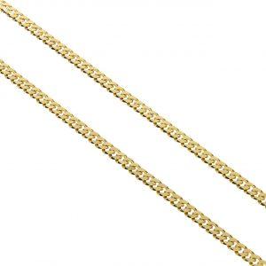 Unisex Altın Zincir 14 Ayar