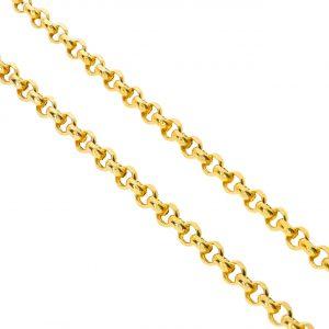 Unisex Doc Altın Zincir 14 Ayar