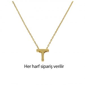 Harf Altın Kolye 14 Ayar